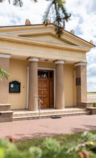 Kaplica neoklasyczna w Pacholewie