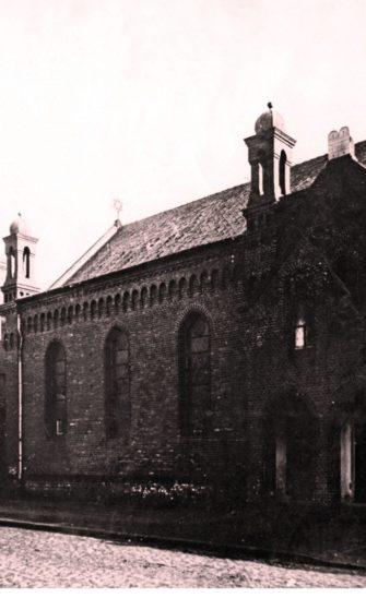 Nieistniejąca synagoga